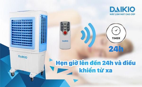 Daikio DKA-05000B có chức năng hẹn giờ tiết kiệm thời gian